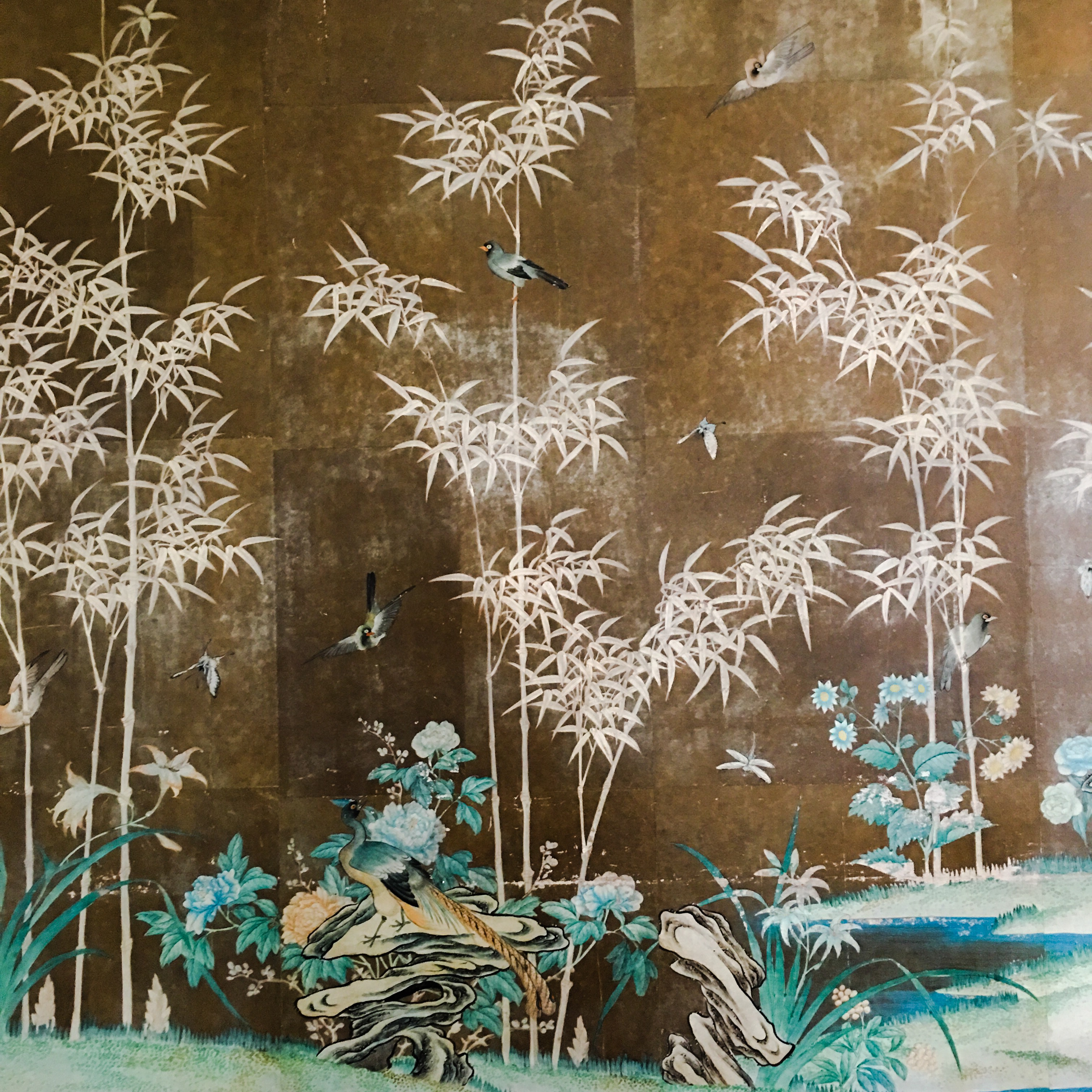 THE CHATOL HOUSE & GARDENS | DINING ROOM WALLCOVERING