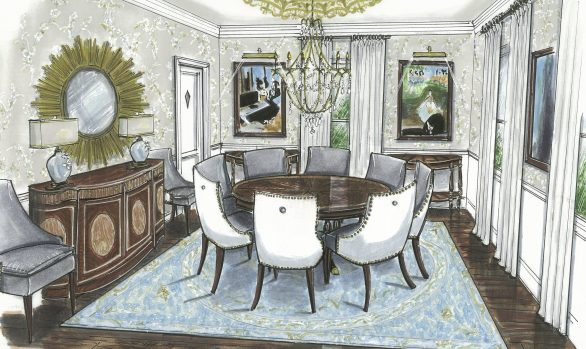 STEPHENS COLLEGE PRESIDENT'S HOUSE | DINING ROOM